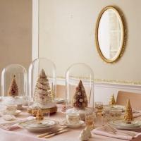 La mesa de Navidad de Raquel Style.// // Raquel Style Christmas table.